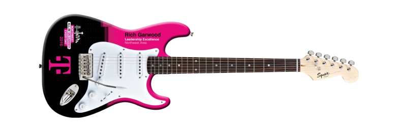 T-Mobile Real Fender™ Squier Promo Guitar Rockstar Award