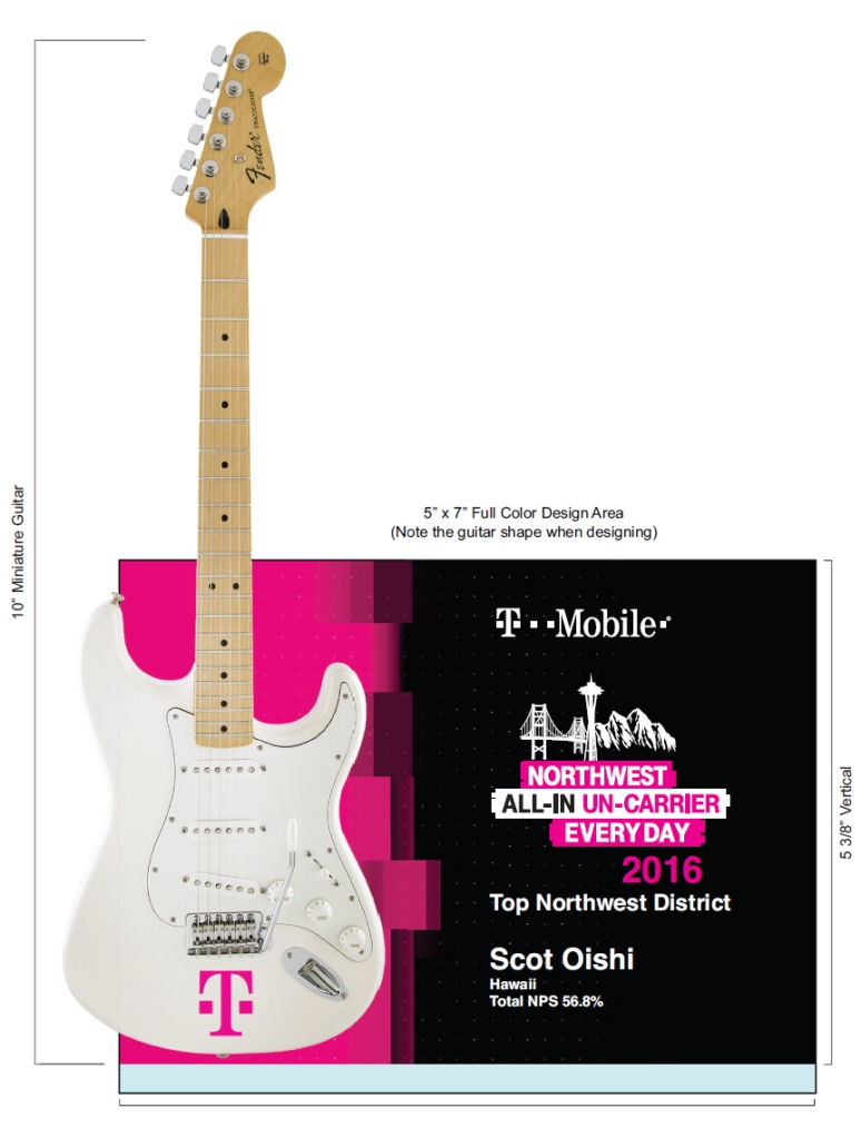T-Mobile Rockstar Award Virtual Mock-up