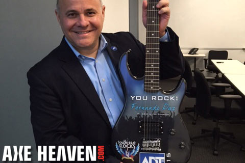 ADT Rockstar Award Peavey Electric Guitar