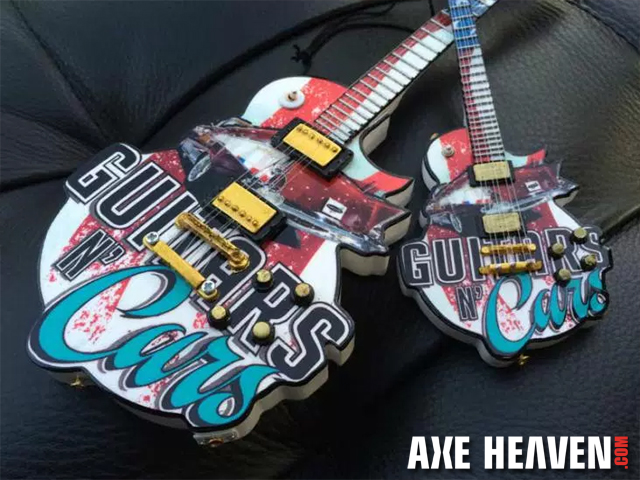 Guitars N' Cars Custom Promo Mini Guitar by AXE HEAVEN®