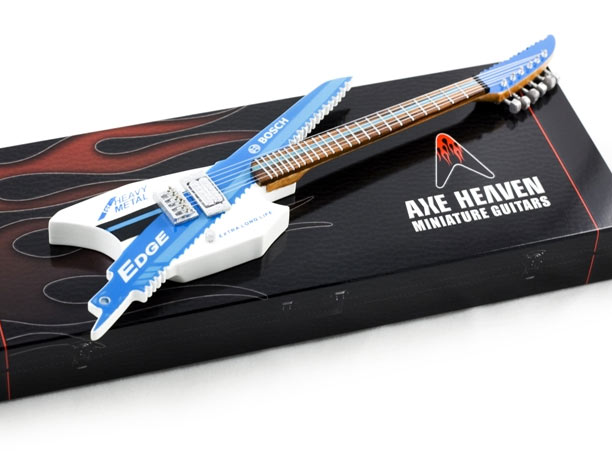 Bosch EDGE Miniature Promotional Guitar from AXE HEAVEN®