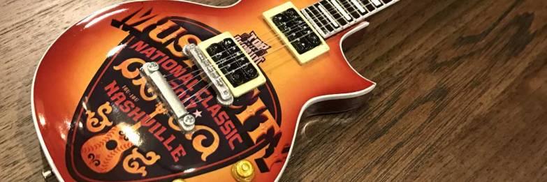 Top Recruit Recruits Promotional Mini Guitar for Music City Futures Classic in Nashville