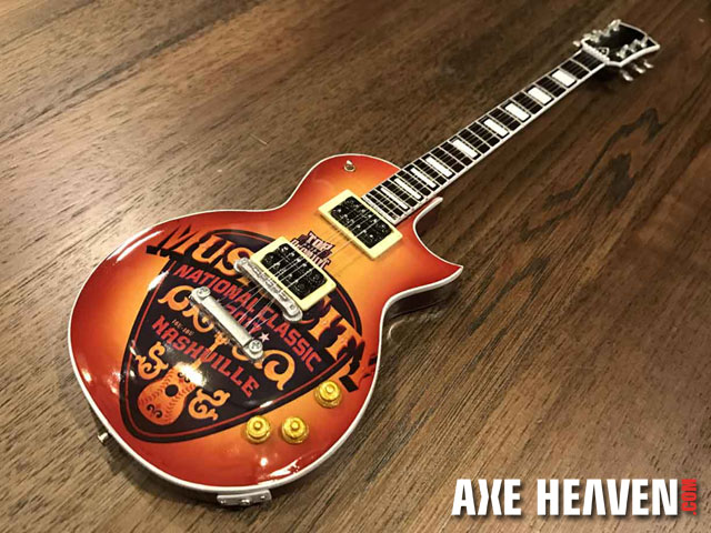 Promotional Mini Guitar for Music City Futures Classic by AXE HEAVEN®
