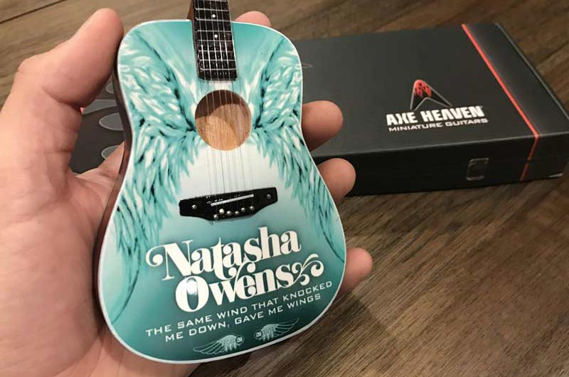 Natasha Owens Promotional Acoustic Mini Guitar