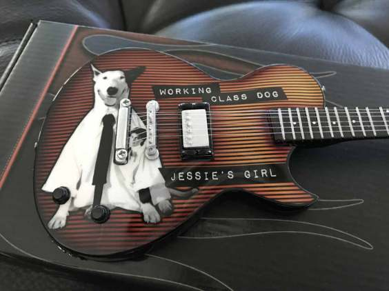Rick Springfield Custom Promo Miniature Guitar