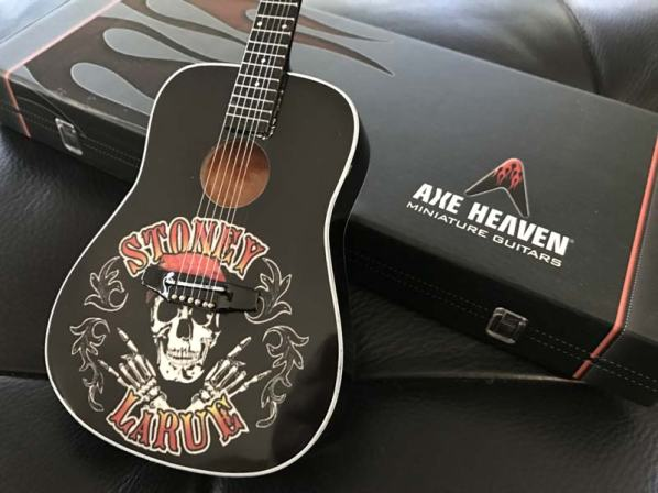 Stoney LaRue Custom Promo Acoustic Mini Guitar by AXE HEAVEN®