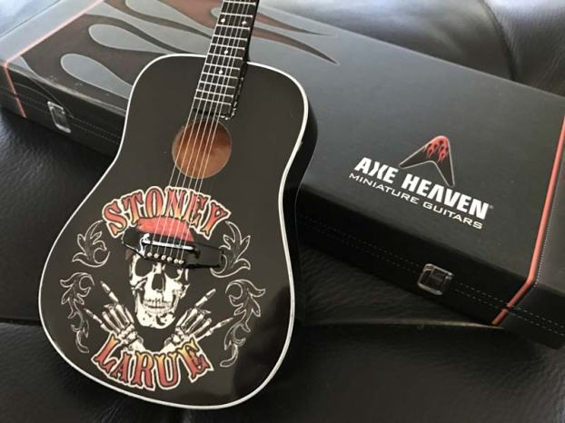 Stoney LaRue Custom Promo Acoustic Mini Guitar by AXE HEAVEN®