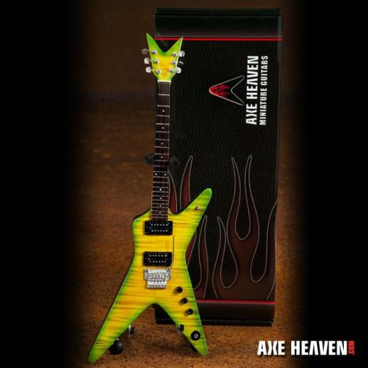 *Licensed Dimebag Darrell Signature Slime Dime Miniature Guitar Replica