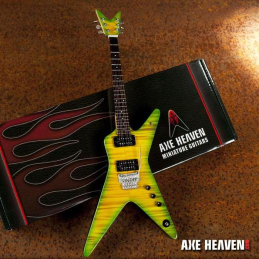 *Licensed Dimebag Darrell Signature Slime Dime Mini Guitar Replica
