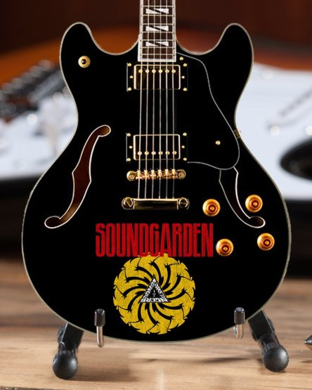 *Licensed Soundgarden Mini Guitar Collectible