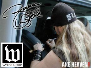 Wylde Audio Officially Licensed Zakk Wylde Miniature Guitars by AXE HEAVEN®