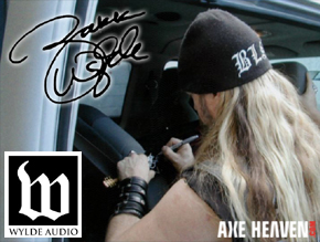 Wylde Audio Officially Licensed Zakk Wylde Miniature Guitars by AXE HEAVEN®