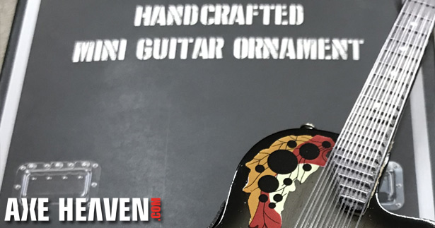 Melissa Etheridge 6″ Custom Promo Guitar Ornament by AXE HEAVEN®