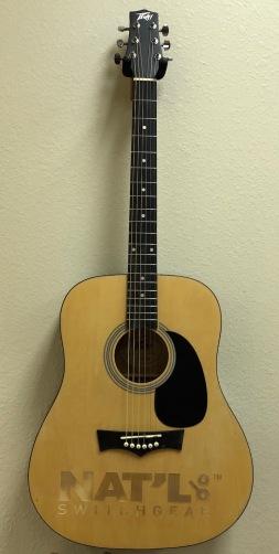 Full-Size-Real Laser-Engraved Acoustic Guitar