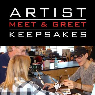 Artist Meet & Greet Keepsakes