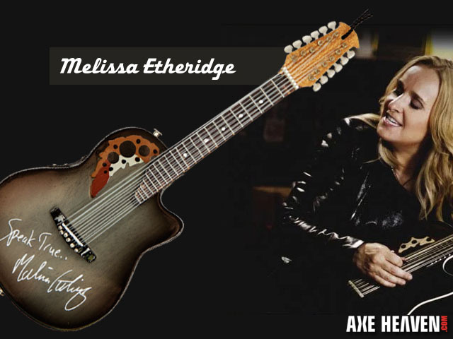 Custom 6-Inch Ornament for Melissa Etheridge by AXE HEAVEN®