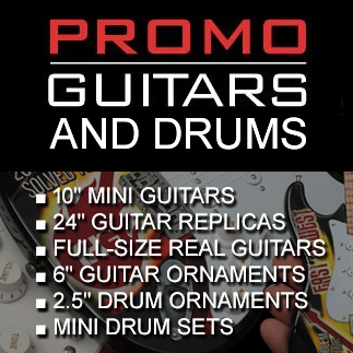 Promo Guitars and Drums