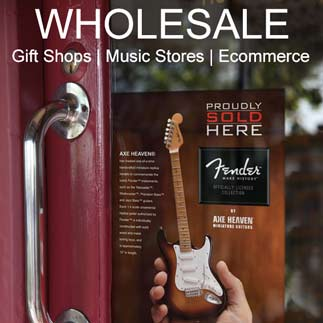 Wholesale for Gift Shops, Music Stores, and Ecommerce Sites