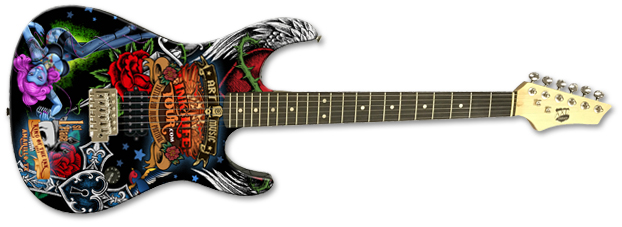 Promo AXL® Badwater 2 Guitar