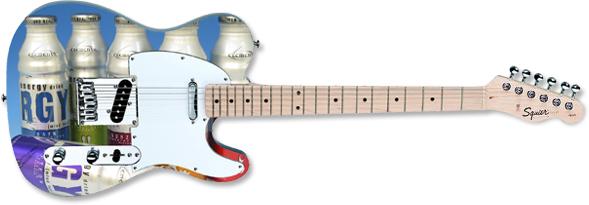 Promo Fender™ Squier™ Tele™ Guitar