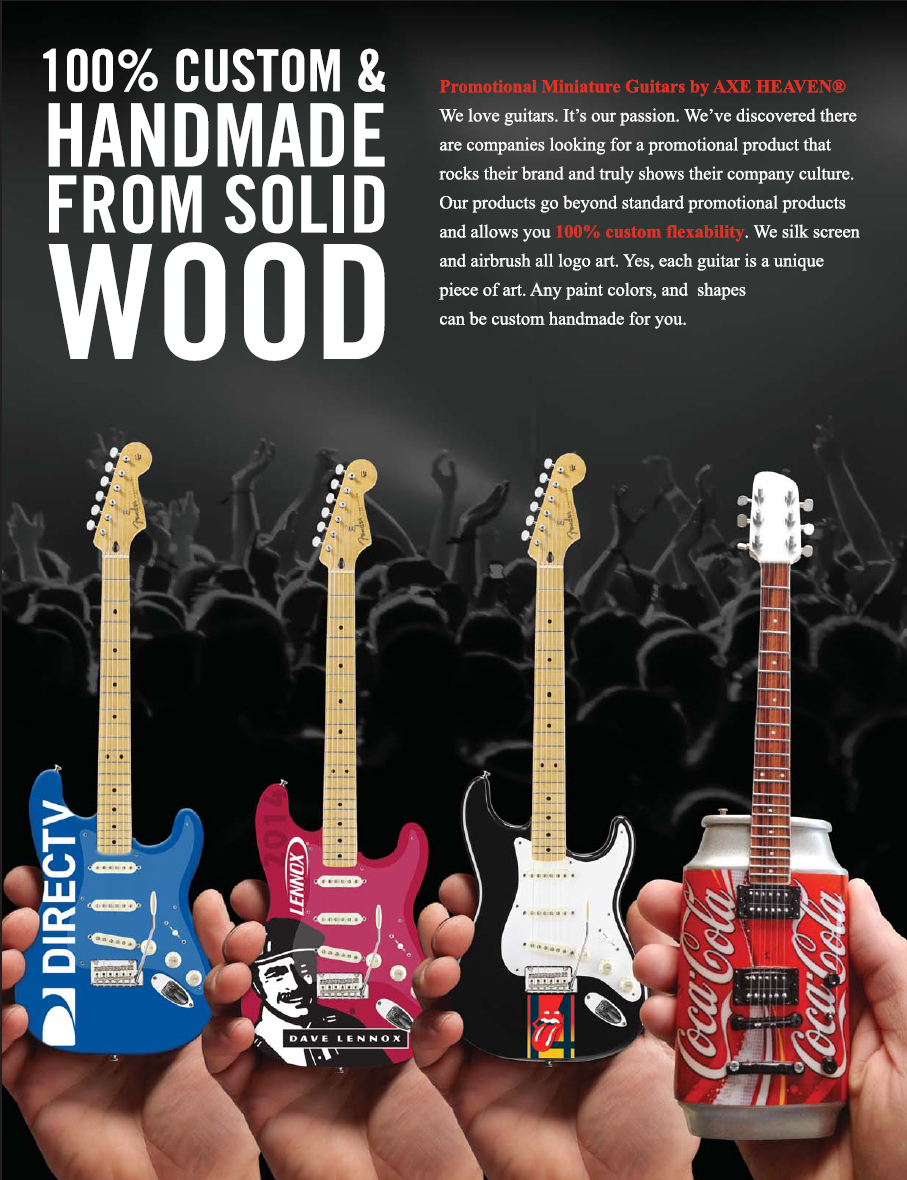 Custom Promo 10-Inch Mini Guitars