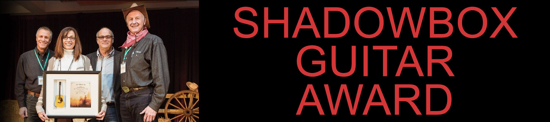 Shadowbox Guitar Award by AXE HEAVEN®
