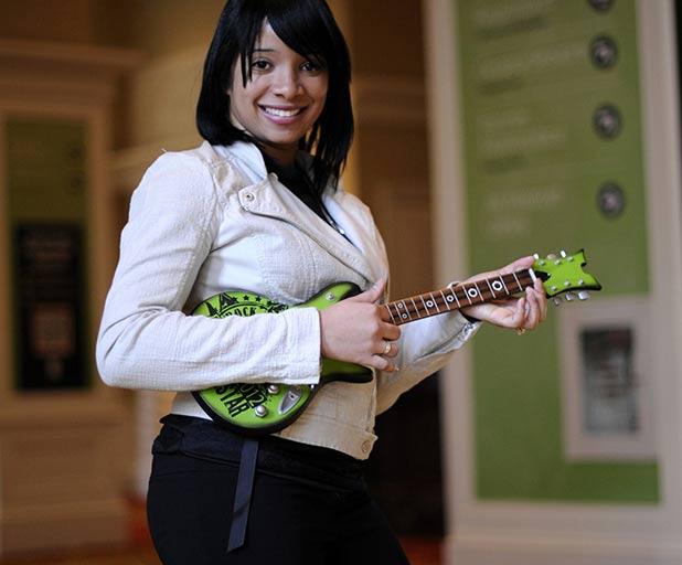 24-Inch Custom Promo Replica Guitar