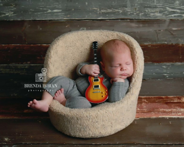 AXE HEAVEN® Mini Guitar - Brenda Horan Photography