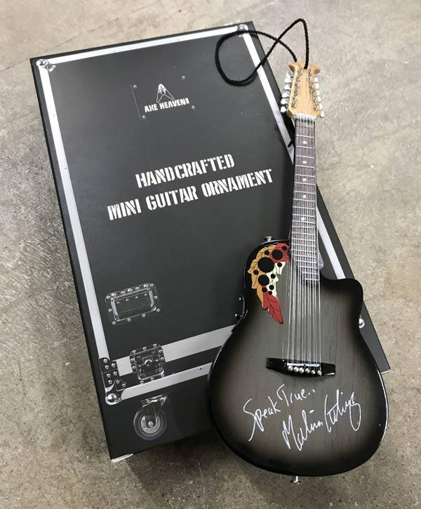 6-Inch Guitar Ornament