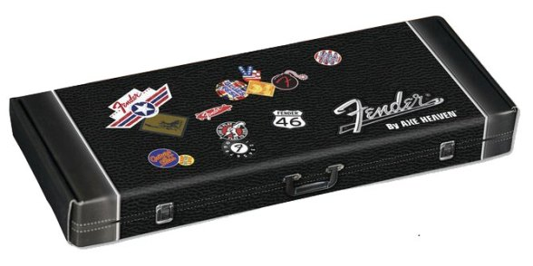 "Fender™ by AXE HEAVEN® Gift Box for 10"" Mini Guitar"