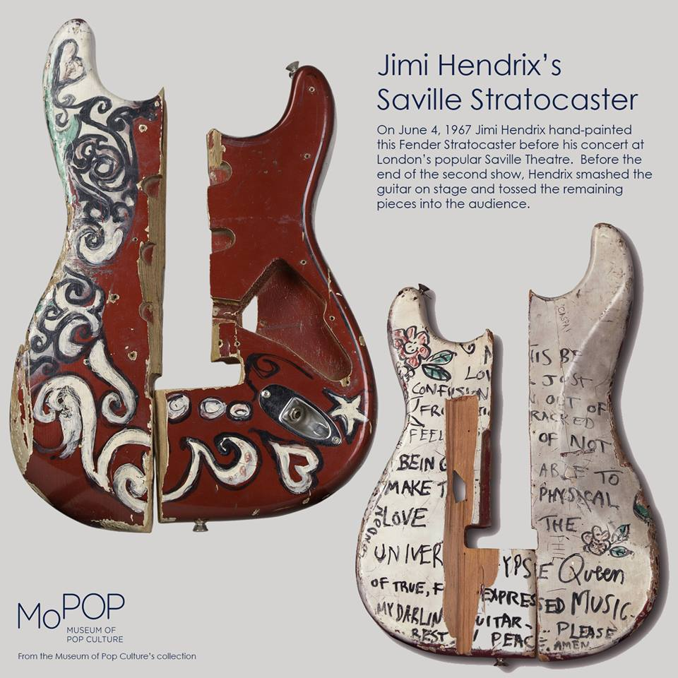 Remains of Jimi Hendrix Saville Theatre Fender™ Startocaster™