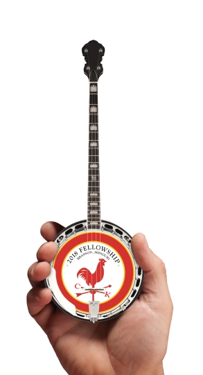 Promotional Mini Banjo for Country Kitchen