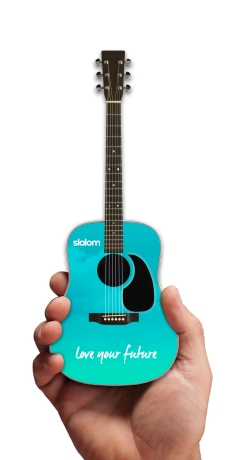 "Promo Acoustic 10"" Mini Guitar for Slalom"
