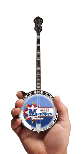 Promotional Mini Banjo for Mummers Parade