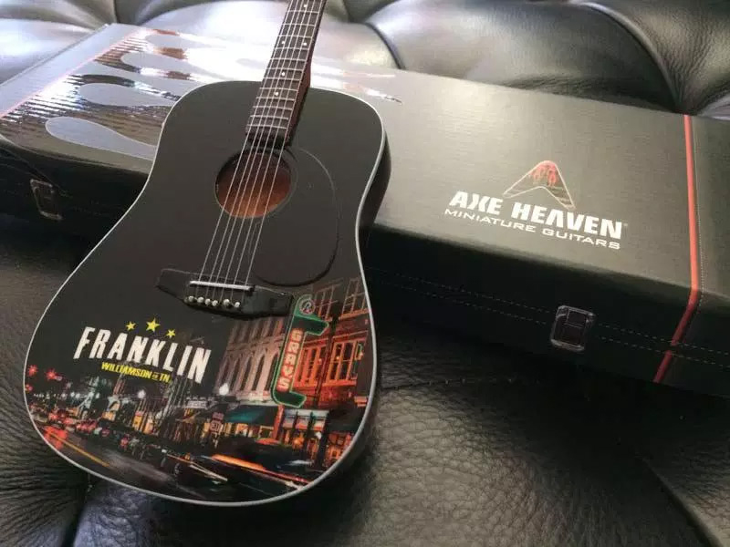 Franklin Tennessee Custom Promo Acoustic Guitar