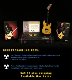 Bruce Kulick Mini Guitar by AXE HEAVEN®