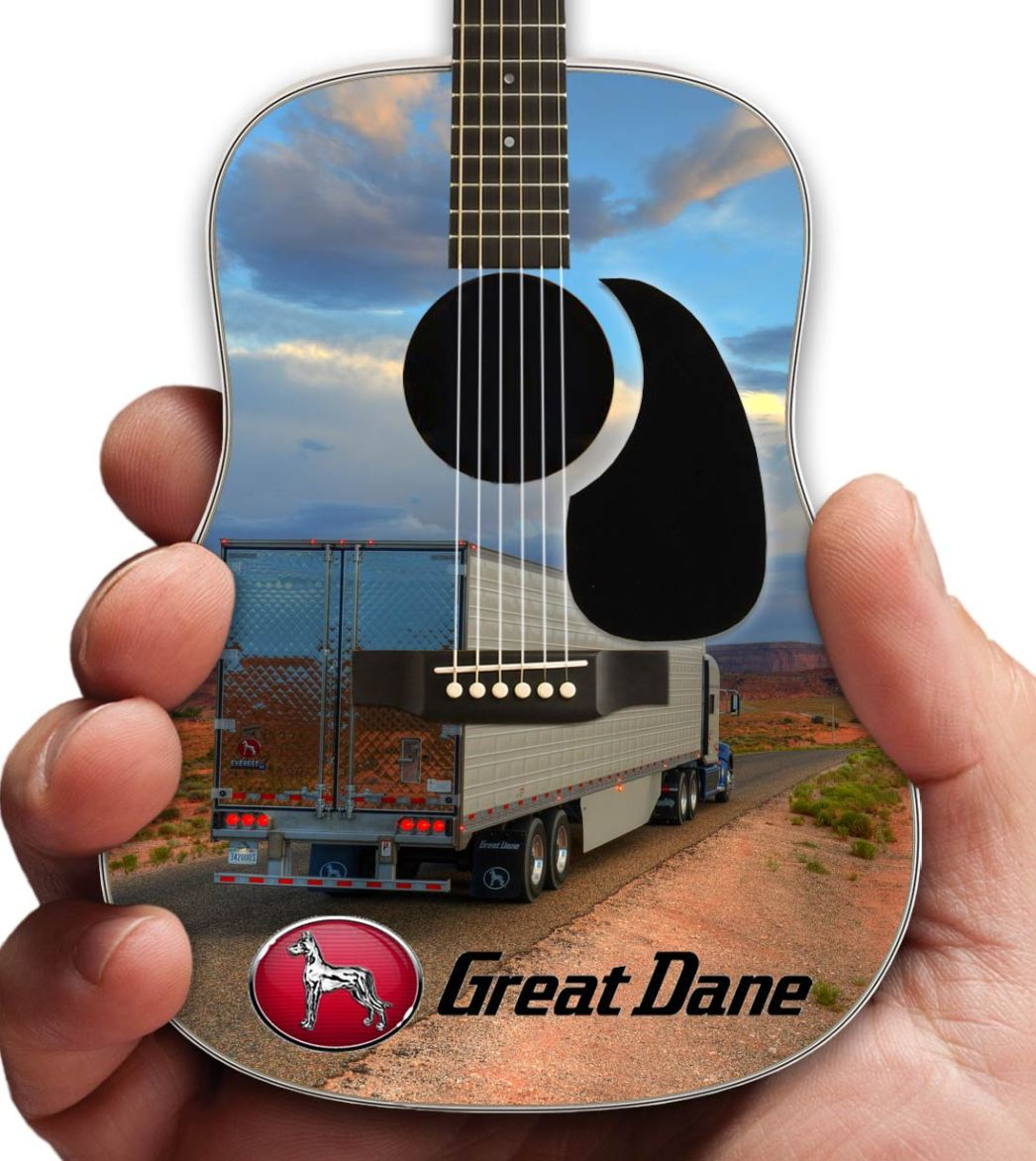 Promo Acoustic Mini Guitar for Great Dane