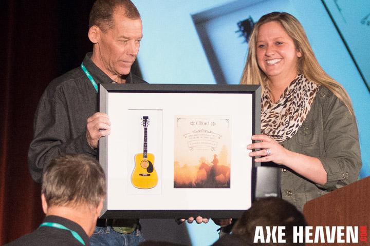 Gilford•Johnson Shadowbox Guitar Award