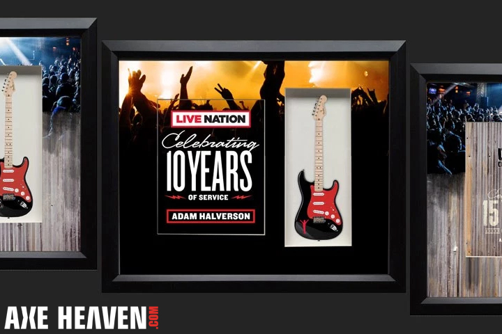 House of Blues and Live Nation Rockstar Shadowbox Guitar Award