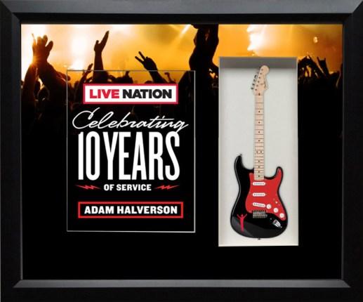 Live Nation Shadowbox Celebrating 10 Years of Service
