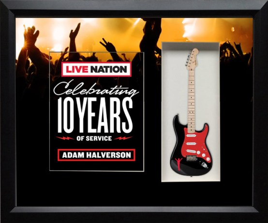 Live Nation Shadowbox Celebrating 10 Years of Service
