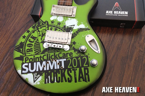 PointClickCare Summit2012 Rockstar Award - Real Guitar