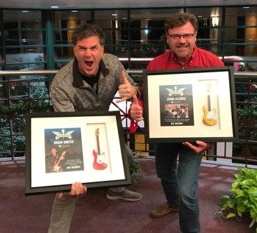 Rockstar Shadowboxes for Brad and John