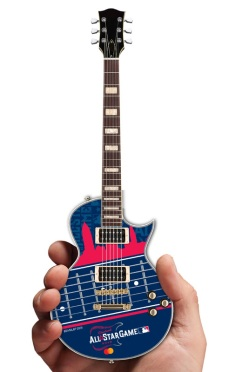 Major League Baseball All-Star Game Cleveland 2019 Electric Mini Guitar by AXE HEAVEN® Mastercard