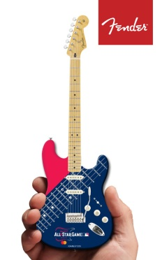 Major League Baseball All-Star Game Cleveland 2019 Fender™ Strat™ Mini Guitar by AXE HEAVEN® Mastercard