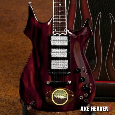 Officially Licensed Jerry Garcia™ Lightening Bolt Mini Guitar by AXE HEAVEN®