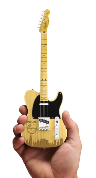 Virtual of Philips Laser-Engraved Fender™ Telecaster™ Mini Guitar by AXE HEAVEN®