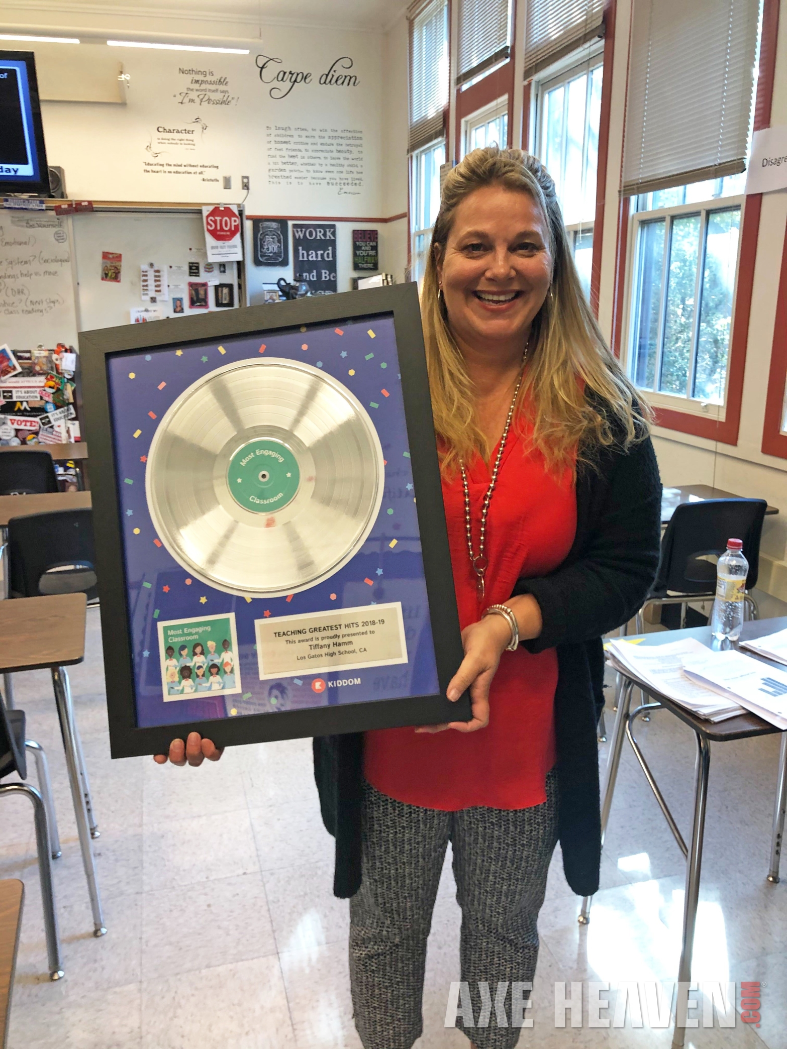 Teachers rock_record award