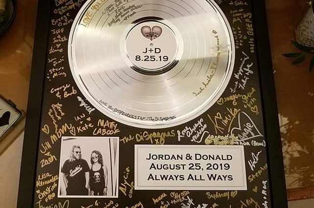 Gold and Platinum Records Make Great Memorabilia for Special Events