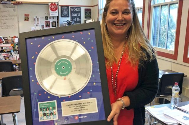 Rockstar Teacher Award for Great Educators by AXE HEAVEN®